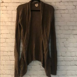 Mossimo Supply Co Brown Cardigan